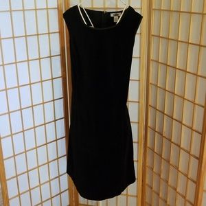 Old Navy Cotton Velveteen Black Dress